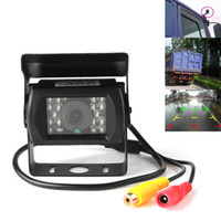 Wholesale Viewing Angle Tv - Waterproof Design 120 Degrees Wide Angle Lens 480 TV Lines IR Night Vision Car Rear View Roller Camera for Cars CAL_00P