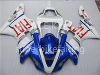 3Gifts New Hot vente vélo Carénages Kits Pour YAMAHA YZF-R1 1998 1999 R1 98 99 YZF1000 Cool Bleu Blanc SX23