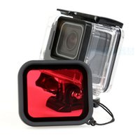 Wholesale Square Filter Case - Factory outlet! Red Diving Filter for GoPro Hero 5 Housing Case