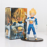 Wholesale Dragon Ball Z Big Toys - 20cm DRAGON BALL Z vegeta Figure Super Saiyan SCultures big 6 special version pvc figure action model toy kids gifts