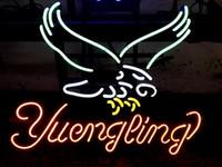 vasos de cerveza yuengling al por mayor-Nuevo Tat tyre Neon Beer Sign Bar Sign Real Glass Neon Light Beer Sign Yuengling Beer Art Light Neon 16x14