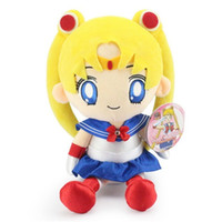 "Wholesale Japanese Cartoon Plush Toys - Hot Sale 11.8"" 30cm Japanese Anime Cartoon Sailor Moon Plush Dolls Stuffed Toys Gifts New"