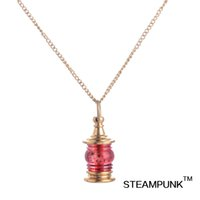 Wholesale Necklaces Pendants Victorian Style - STEAMPUNK Jewelry Pendants Necklace With Link Chain The Victorian Period Necklaces Steampunk Style Pendants Necklaces TYK161144-1
