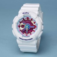 Wholesale Good Day Baby - Good quality baby GA110 women's sports LED chronograph wristwatch, military watch digital watch Waterproof with original box
