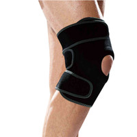 Wholesale Breathable Neoprene Adjustable Basketball Running Climbing Sports Injury Relief Leg Protector Knee Pads Brace Support