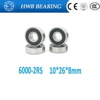 Wholesale RS RS rs deep groove ball bearing x26x8mm RSH Rubber Sealed Ball Bearing MR12268 RS