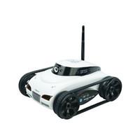 mini carros espiões venda por atacado-I-Spy Tanque com Câmera Espion Feliz Vaca 777-287 Wi-Fi Carro RC com 30 W Pixels Camera Suporte IOS telefone ou Android