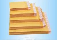 kraft mailer größen großhandel-Halloween Weihnachten Kraft Bubble Mailer Gepolsterte Umschläge Taschen Papier Geschenkverpackung CD Größe 122X178 MM + 40 MM Party Supplies