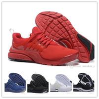 reputable site f16bf 35282 Commercio all ingrosso 2017 uomini donne Blackout scarpe da corsa Air Presto  ultra olimpico BR QS donna uomo moda atletico allevato blu navy Air sneaker