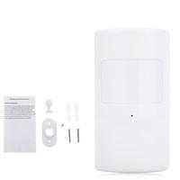 Wholesale 433mhz Wireless Pir - WMS08 433MHz Portable WiFi Alarm PIR Motion Sensor Smart Home Detectors Wireless Window Door Magnet Sensor Detector