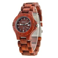 Wholesale Wooden Buckle - Bewell the beat selling Man's Women's Watch Wooden Watches with Adjustable Watchband Causal Fashion Style Quartz Watch