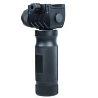 Wholesale Rail Mount Cree - Tactical Vertical Foregrip w  High Power CREE LED Strobe Flashlight & 20mm Rail Picatinny Mount
