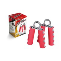 Wholesale Foam Wheels - Winmax 2pcs Foam Handle Hand Grips Red Or Black Hand-muscle Developer Sports and Entertainment Body Building Steel and Soft Hand Grips