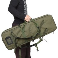 """Wholesale Tactical Carrying Bags - Black   Army green 85cm   33.5"""" Outdoor Hunting Bags Backpack Military Square Carry Tactical Bag Protect Case Backpack"""