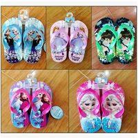 Wholesale Boys Spiderman Slippers - Wholesale Frozen Spiderman Batman Slippers Flip-Flop for Little Girls Boys Children Cartoon Thick Soles Slippers Beach Sandals for Sale