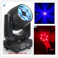 Wholesale light road cases - 2Xlot + road case IP20 zoom moving head RGBW 4IN1 6x40w bee eye led moving head light