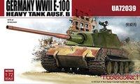 Wholesale E 72 - Wholesale- ModelCollect UA72039 1 72 WWII Germany E-100 Heavy Tank