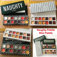 Wholesale Christmas Palette - Kylie Jenner Cosmetics 14 Color Eyeshadow Palette Kylie Naughty eyeshadow Kyshadow Nice palette Eye shadow Christmas DHL Free Shipping