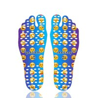 Beach Invisible Anti Slip Insoles Starry Emoji Mandala Nakefit Foot Shoes Isolamento Waterproof Soles Stick Sticker em Pés Pads Socks Sorriso