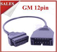 12pin kabel großhandel-GM 12pin zu 16pin OBD1 OBD2 GM 12 PIN 16PIN für GM 12PIN OBD Kabel-Diagnose