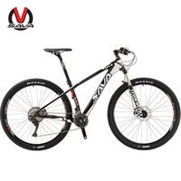 Wholesale Mtb Frame Carbon Fork - SAVA DECK700 Carbon Fiber MTB Mountain Bike 29 29er inches 22 Speed Bicycle Carbon frame SHIMAN0 DEORE XT M8000 manitou fork suspension mtb