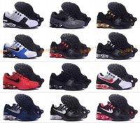 Wholesale Shox Athletic - New arrival Drop Shipping Famous Shox NZ Shox Avenue Mens Athletic Sneakers Sports Running Shoes Size 5.5-12