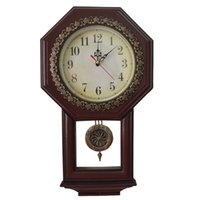 Wholesale Pendulum Resin Wall Clocks - Wholesale- Giftgarden Vintage Wall Clock with Pendulum