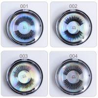 Wholesale Silk Mink Eyelashes - 3D Silk Protein Mink Lashes 3D Mink False Long Lasting Lashes Natural Eyelashes Makeup beauty False Eyelash