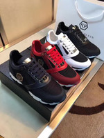 Wholesale Us11 Platforms - SS17 New Arrive Sneaker-Platform Mens Shoes SS1796 Top Stars Luxury Layer Leather of Rivet Casual Men Shoes EUR38-45