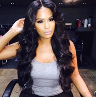 Wholesale Free Wigs For Women - Hot top quality simulation human hair loose wave wigs for black women in stock free shipping