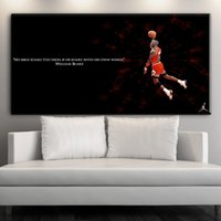 Wholesale Poster Art Sale - ZZ1592 2017 Sale New Paintings Cuadros Decor Sports Basketball Poster Home Decoration Canvas Print Pictures art