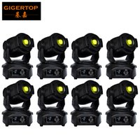 Wholesale Spot Light Control - Discount Price 8 Pack 90W LED Spot Moving Head Lights DMX512 Control USA Luminus Led Moving Head Gobo Prism Function Electronic Focus Zoom