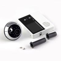 """Wholesale Lcd Video Door Phone Wireless - 2.4"""" TFT LCD Screen Digital eye Viewer Video Camera Door Phone,doorphone monitor Speakerphone intercom Home Security Doorbell"""