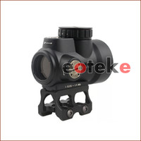 equipo de rifle táctico al por mayor-Trijicon MRO Style Holográfico Red Dot Sight Optic Scope Tactical Gear con 20 mm de alcance para rifle de caza