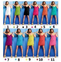 Wholesale Swimming Bath Suit Women - PrettyBaby 11 colors Halter Skirt Swimwear Women One Piece Swimsuit Beachwear Swim dress Plus size Bathing Suit body wrap bath towel