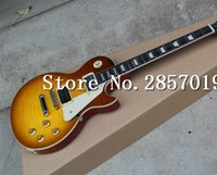 Wholesale Guitarra Custom Shop - New Arrival Custom Shop Jimmy Page Number Two VOS Electric Guitar, Flamed Maple,guitarra