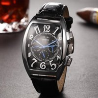 Wholesale Stainless Square Watches Men - Luxury Brand Automatic Watch Men Silver Case White Dial Stainless Steel Brand Calibre 8880 Watch Analog Glass Back Watch Montre Homme