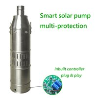 Wholesale Centrifugal Submersible Pump - DC 24V 4inch brushless submersible centrifugal Solar Water Pump, borewell water fountain pool pump for sale,water irrigation pump