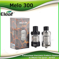 Wholesale Es Top - Original Ismoka Eleaf Melo 300 Sub Ohm Tank 3.5ml 6.5ml Atomizer Top Fill System With ES Sextuple-0.17ohm Coil 100% Genuine DHL Free 2205088