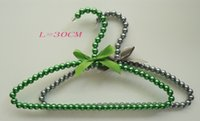 Wholesale Men Tie Buy - Free shipping,30cm Lenth.MIX man of colors for your buy beads pearl clothes hanger