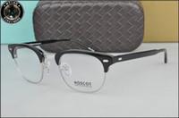 Wholesale moscot eyewear resale online - HOT SALE New arrived retro vintage brand Moscot YUKEL johnny depp prescription glasses optical eyeglasses spectacle frame men eyewear