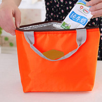 Wholesale lunch storage - Wholesale- Portable Thermal Insulated Cooler Waterproof Lunch Picnic Tote Storage Carry Bag BW1B