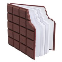 Wholesale kraft notebooks wholesale - Wholesale- High Quality Convenient Creat Stationery Notebook Chocolate Memo Pad Diy Cover Notepad School Gift
