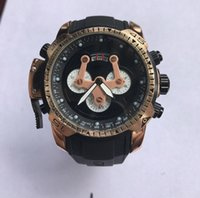 Wholesale Silicone Watches Design - New Design Men Watches with BOX Stainless Steel Quartz Sport Wristwatches Silicone Band Luxury Watch Best Gift