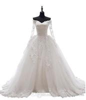 vestidos de novia victoriano rosa al por mayor-2017 nuevo vestido de boda del vestido de bola del hombro del amor diseños del cuello en forma de corazón atractivo y de la vendimia Tulle ata para arriba la boda nupcial