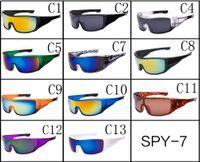Wholesale Spy Coat - FONEX New Spied Sunglasses Men Reflective Coating Square Sun Glasses Women Brand Designer Oculos De Sol Eyewear masculino UV400