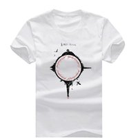 Wholesale Lord Rings Print - Lord Of The Rings New Fashion Men's T-shirts Short Sleeve Tshirt Cotton t shirts Man Clothing Free Shipping