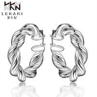 Wholesale Hoop Earring Supplies Wholesale - Wholesale- E593 2015 New supplies earrings fashion high quality