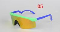 ingrosso lama progettista-Occhiali da sole delle lame del rasoio degli occhiali di protezione di stile di modo degli occhiali di modo degli occhiali di Sun del progettista delle donne degli uomini di alta qualità Trasporto libero