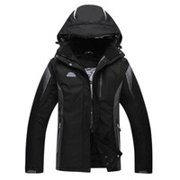 Wholesale Cheap Men S Winter Clothes - Wholesale- Black Green Blue Pure Colors Jacket Cheap Men or Woman Unsex Ski snowboar skiing Clothes outdoor Costume Winter coat snow jacket